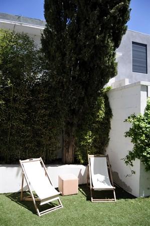 Les flots bleus splendide appartement en rez de jardin for Location appartement jardin
